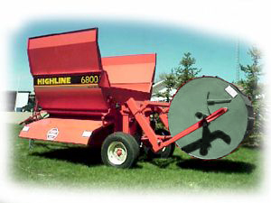 Highline Bale Feeder